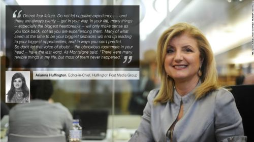 Arianna Huffington Advice