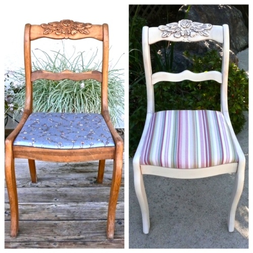 giving an old chair new life