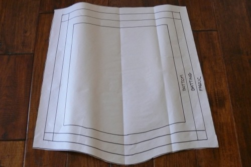 Seat cover pattern