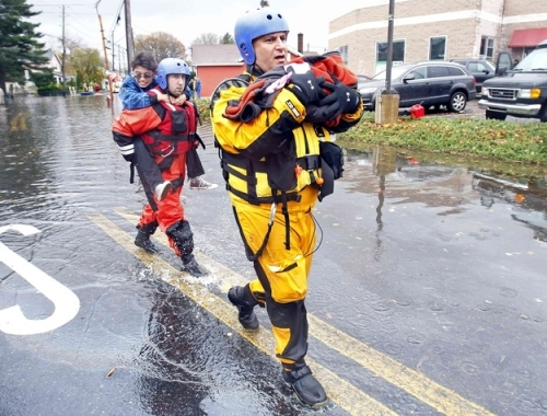Hurricane Sandy rescue