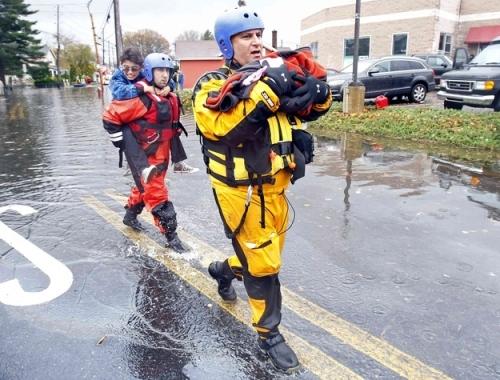 Hurricane Sandy rescue