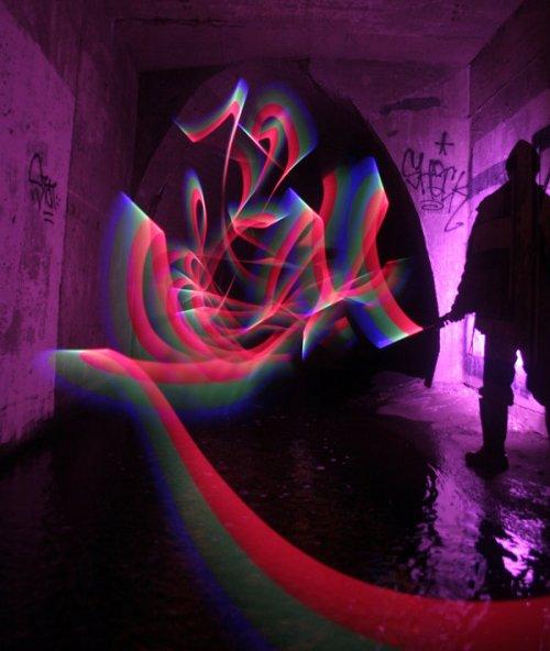 TCB Light Graffiti