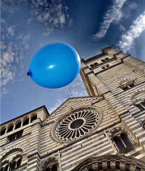 balloon in the sky