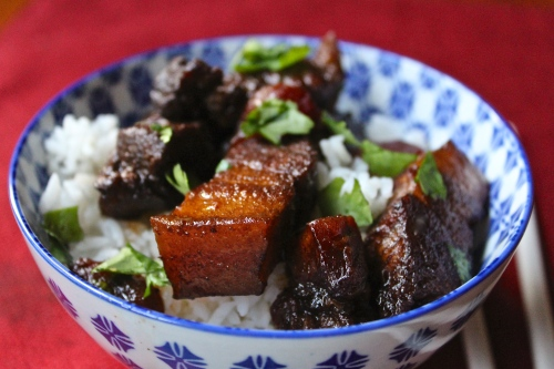 five spice pork belly