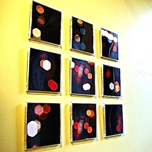 CD case wall art