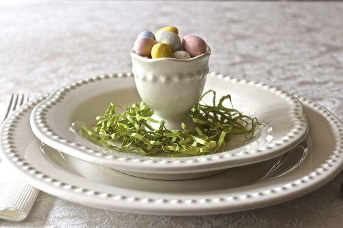 Egg Cup Candy Dish