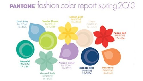 Spring 2013 Colors