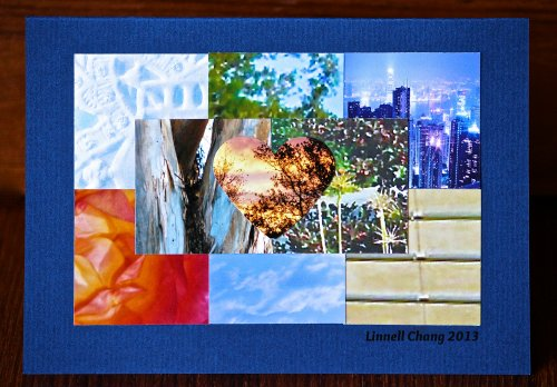Photo Mosaic Quilt Card
