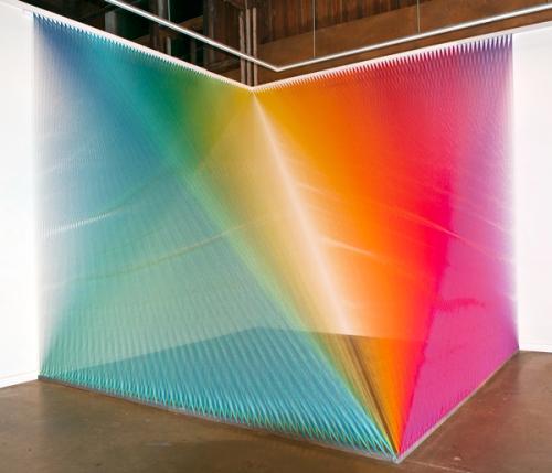 Gabriel Dawe Art Installation