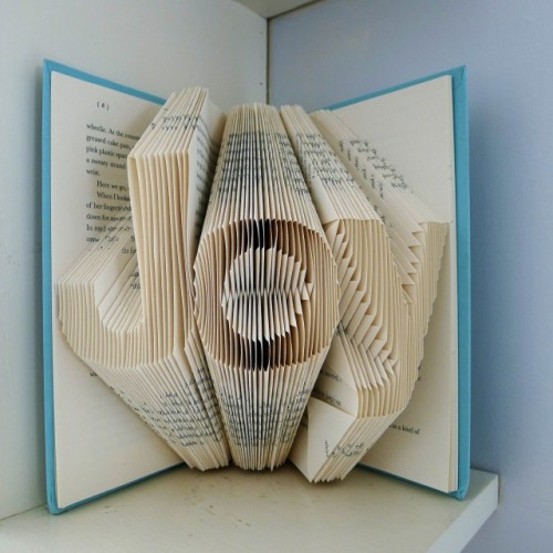Folded Book Art by Luciana Frigerio