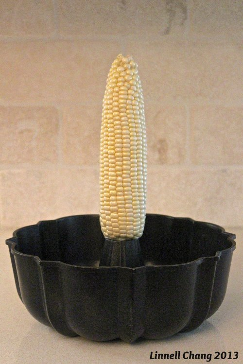 Kitchen Tip: How to cut kernels off a corn cob
