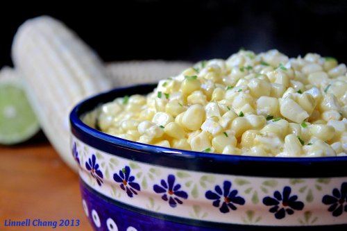 Creamed summer Corn