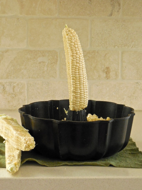 Kitchen Tip: How to cut kernels off corn cob