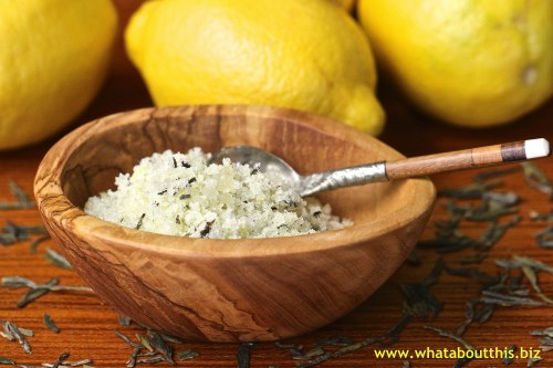 Lemon Tea Sugar Scrub