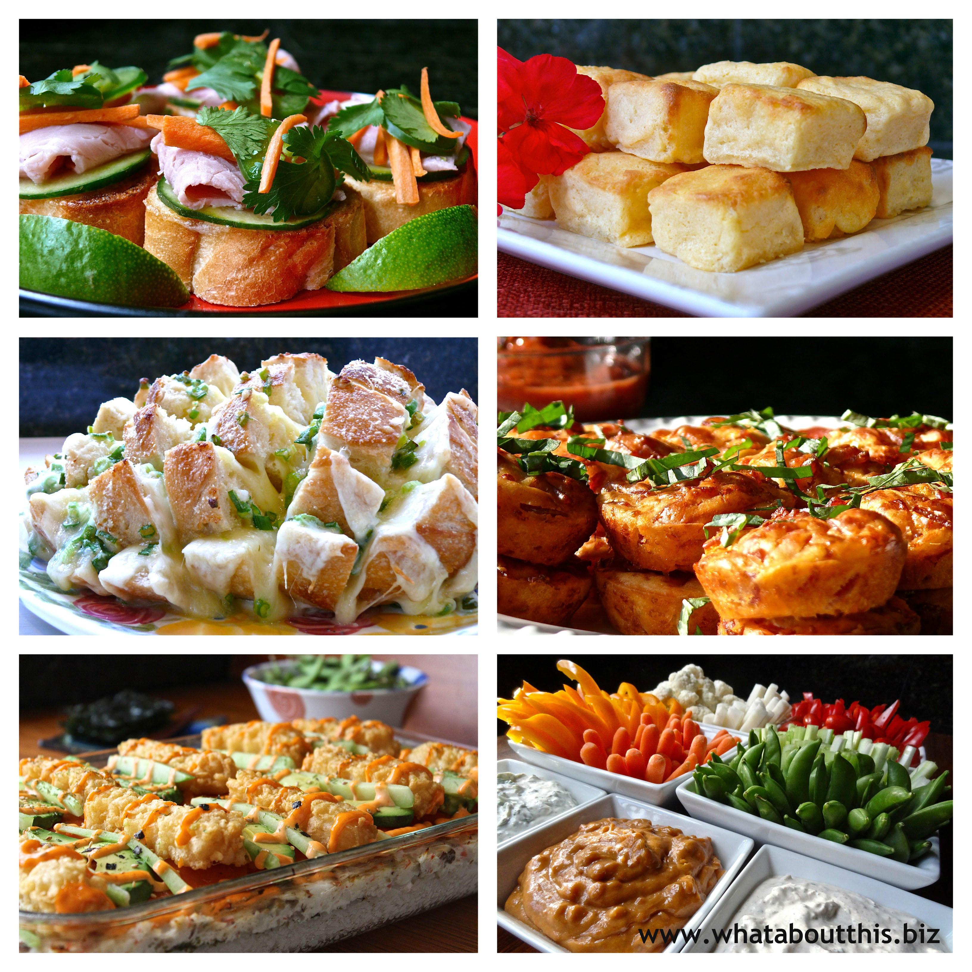 Appetizer roundup 6 favorite appetizers revisted what for Appetizers to make at home