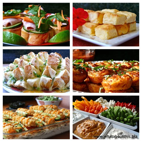 Appetizer Roundup: 6 Party Appetizers Revisted