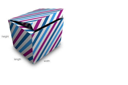 Gift Box Template Maker