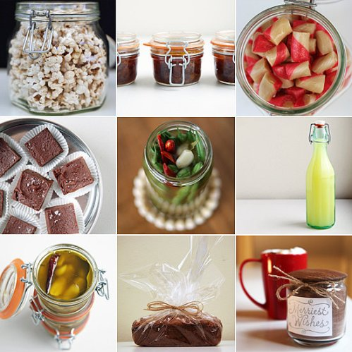 60 Ideas For Homemade Edible Gifts