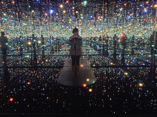 Yayoi Kusama's Infinity Mirrored Room - the Souls of Millions of Light Years Away