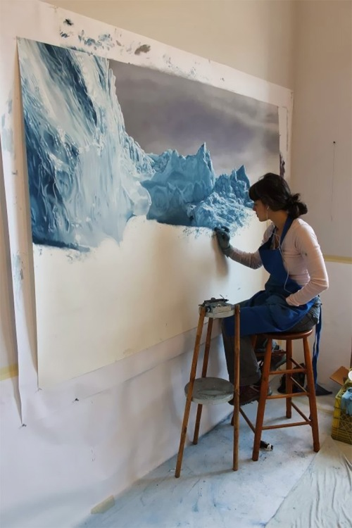 Zaria Forman: Art and Climate Change