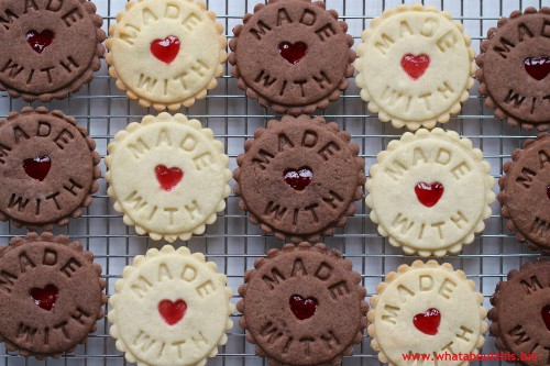 """Made With Love"" Cookies"