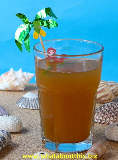 Pineapple-Lemon Iced Tea