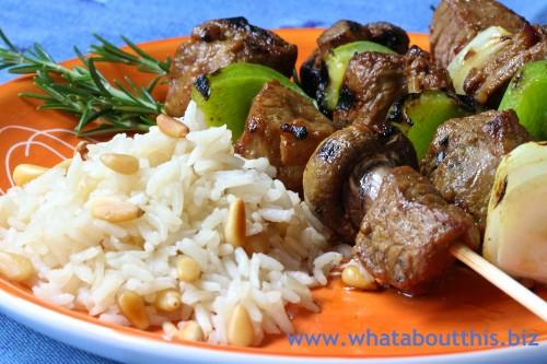 Javanese Marinade for Lamb Shish Kebabs