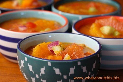 Citrus Gazpacho