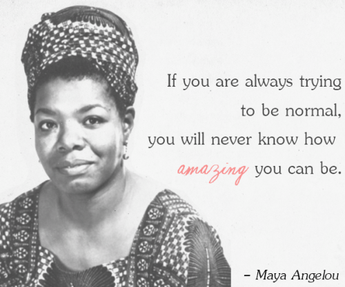 Inspirational Quotes from Maya Angelou