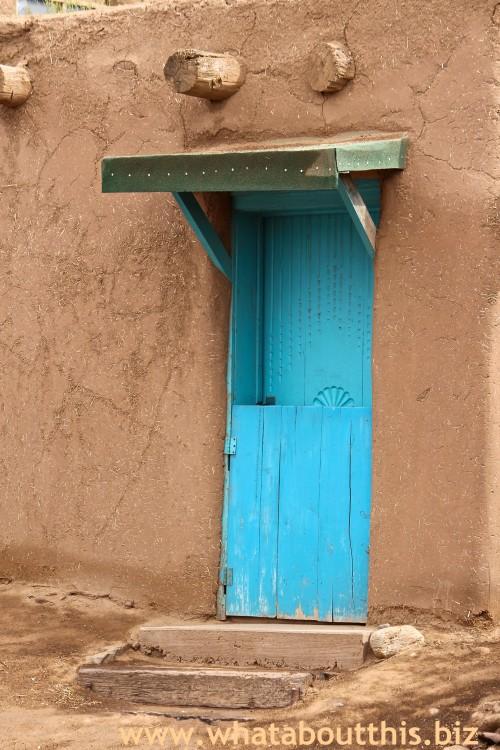 Taos Turquoise Door