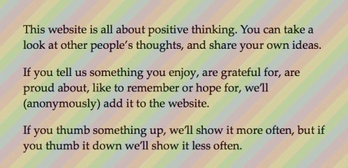Rainbow Thinking: What Are You Grateful For?