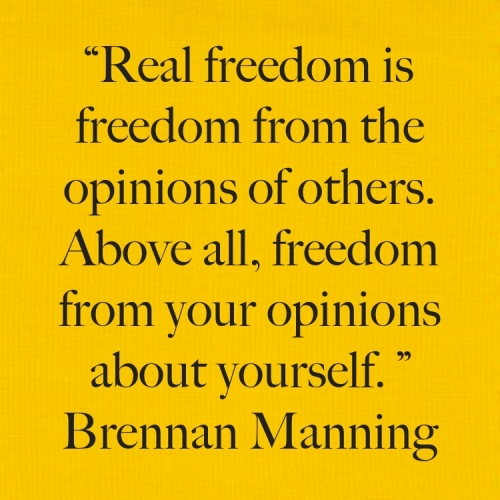 Real Freedom Quote