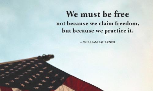 Faulkner on Freedom