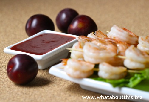 Plum Dipping Sauce for Shrimp