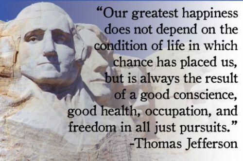 Thomas Jefferson Freedom quote