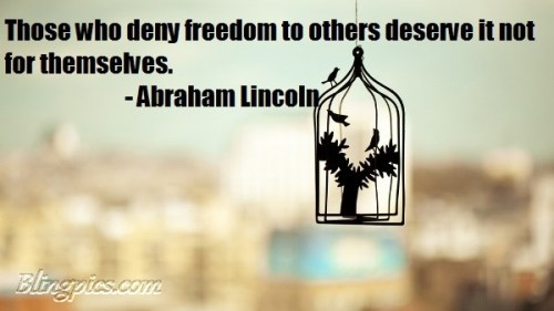 Lincoln on Freedom