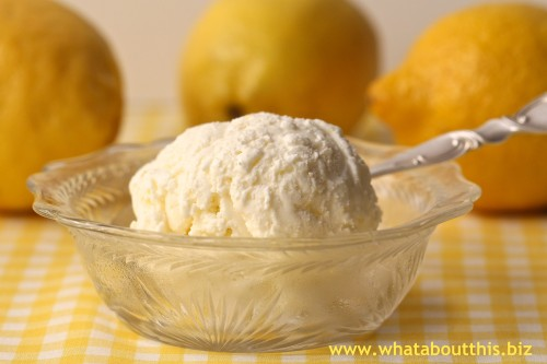 Lemon Mascarpone Gelato