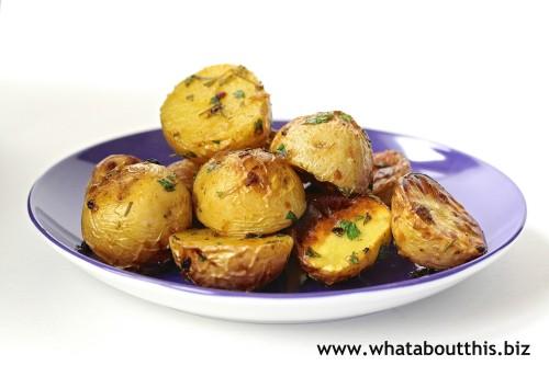 Rosemary-Roasted Potato Salad