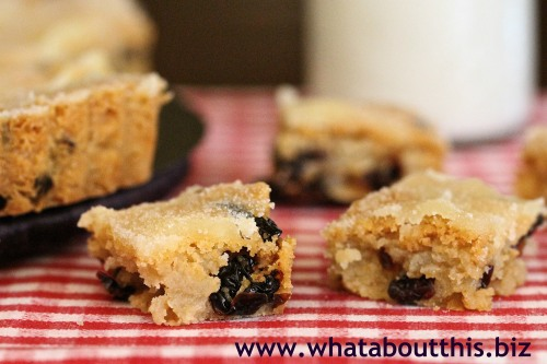 Dried Cherry Shortbread