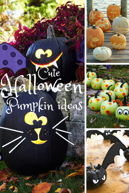 Cute Pumpkin Decorating Ideas