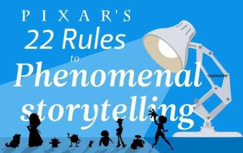 Pixar's 22 Rules to Phenominal Storytelling