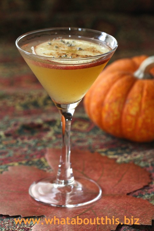 Slice of Fall Martini