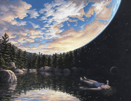 Realistic and Fantastical Art by Rob Gonsales