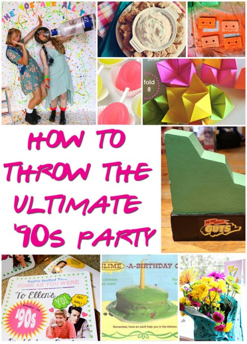 How to Throw a '90s Party