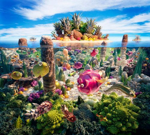 Carl Warner's Incredible Foodscapes
