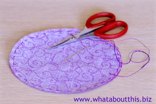 DIY PIn Cushion Stitch