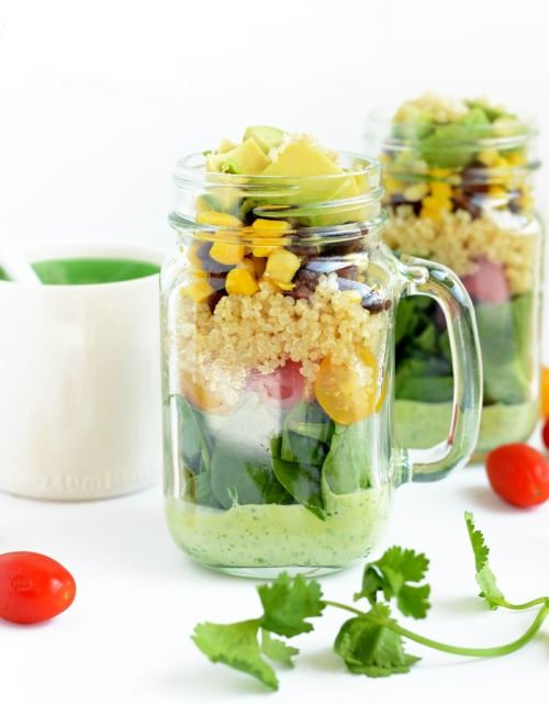 20 Recipes for Salads in a Jar