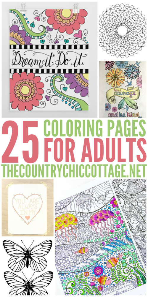 25 Free Coloring Pages