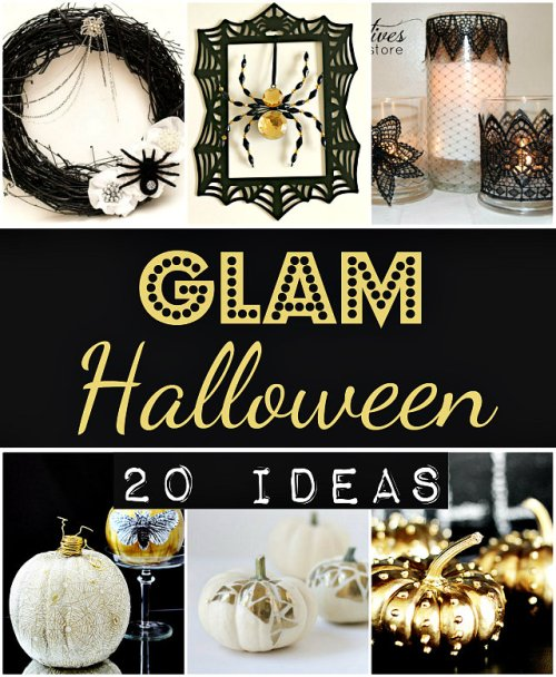 20 Glam Halloween Ideas